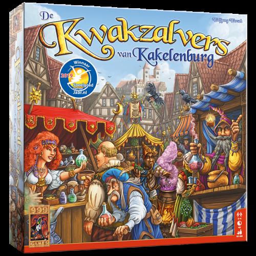 De Kwakzalvers van Kakelenburg kopen? Scoor de beste deal op Bordspel-Kopen.nl!